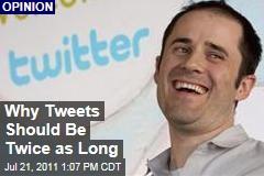 Farhad Manjoo: Twitter Should Allow Tweets to Reach 280 Characters