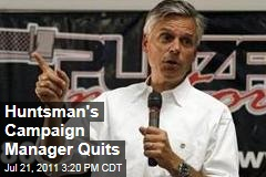 Former Utah Governor Jon Huntsman's Campaign Manager, Susie Wiles, Quits