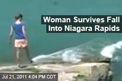 Michigan Woman Lindsey Burgess Survives Plunge Into Niagara Falls Rapids