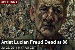 Artist Lucian Freud Dead at 88