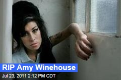 RIP Amy Winehouse: Celebrities Take to Twitter to Mourn Her Death