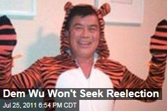 David Wu Sex Scandal: House Democrat Won't Seek Reelection