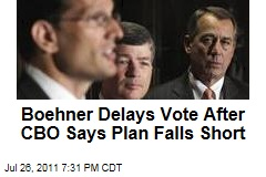 John Boehner Plan Doesn't Cut as Much as Advertised: CBO