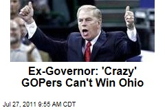 Ted Strickland: 'Crazy' Republicans Can't Win Ohio