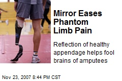 Mirror Eases Phantom Limb Pain