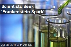 Scientists Seek 'Frankenstein Spark'