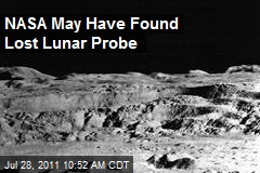 NASA May Have Found Lost Lunar Probe