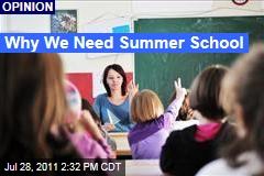 Jeff Smink: Why We Need Summer School