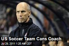 Bob Bradley Fired as USA Soccer Coach