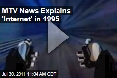 MTV News Explains Internet Fad in 1995