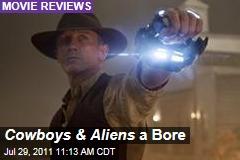 Cowboys & Aliens Reviews: Daniel Craig, Harrison Ford Don't Quite Save It
