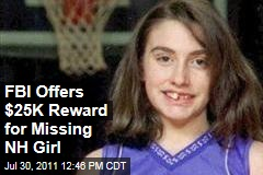 FBI Offers $25,000 Reward in Case of Missing New Hampshire Girl Celina Cass