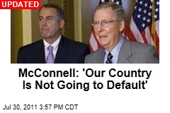 Mitch McConnell: Our Country Is Not Going to Default