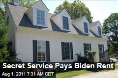 Secret Service Pays Joe Biden Rent to Use His Cottage