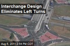 Interchange Design Eliminates Left Turns