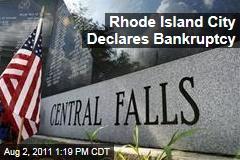 Central Falls, Rhode Island, Declares Bankruptcy