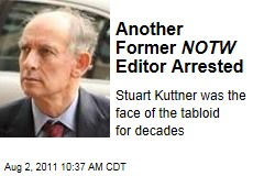 Stuart Kuttner, Another Ex-News of the World Editor, Arrested