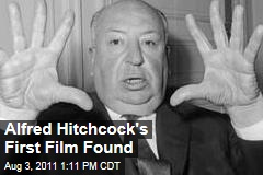 Alfred Hitchcock's First Film Found
