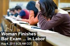 Law School Grad Elana Nightingale Dawson Finishes Her Bar Exam While in Labor