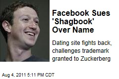 Social Networking: Facebook Battles 'Shagbook' Over Trademark Infringement