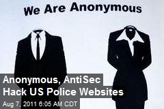 Anonymous, AntiSec Hack US Police Websites