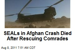 SEALs in Afghan Crash Were Returning From Rescue