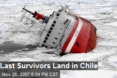 Last Survivors Land in Chile