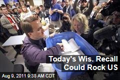 Wisconsin Recall Elections Start Today, Could Rock Entire US