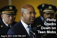 Philadelphia Mayor Michael Nutter Cracks Down on Teen Violence