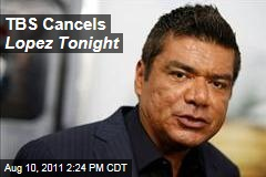 TBS Cancels George Lopez Talk Show, Lopez Tonight