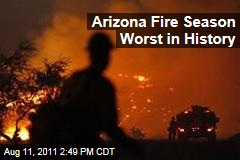 Arizona Wildfires Biggest in History