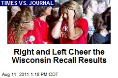 Right and Left Cheer the Wisconsin Recall Results