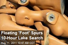 Floating 'Foot' Spurs 10-Hour Lake Search