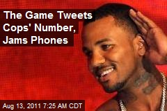 The Game Tweets Cops' Number, Jams Phones