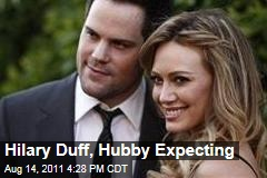 Hilary Duff, Husband Mike Comrie Expecting Baby: Duff Announces Pregnancy on Website
