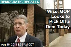 Wisconsin GOP Looks for One More Win in Today's Recall Elections