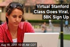 Virtual Stanford Class on AI Draws 58K