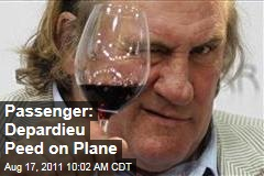 Gerard Depardieu Peed on Plane Floor, Says Fellow Passenger