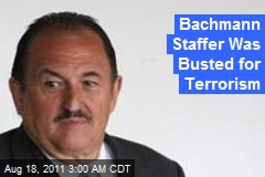 Bachmann Staffer Busted for Terrorism