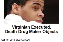 Virginia Executes Jerry Jackson Despite Drug Maker's Objection