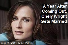 A Year After Coming Out, Chely Wright Gets Married
