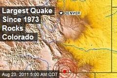 Largest Quake Since 1973 Rocks Colorado