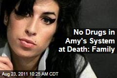 Amy Winehouse Death: No Illegal Drugs in System, Family Says