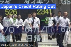 Japan's Credit Rating Cut
