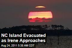 North Carolina Evacuates Ocracoke Island as Hurricane Irene Approaches
