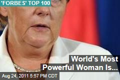Forbes Lists World's 100 Most Powerful Women
