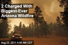 Arizona Cousins Caleb, David Malbouef Charged With Starting Wallow Wildfire