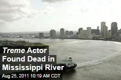 'Treme' Actor Michael Showers Found Dead in Mississippi River