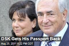 Dominique Strauss-Kahn Gets His Passport Back