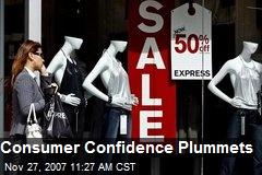 Consumer Confidence Plummets